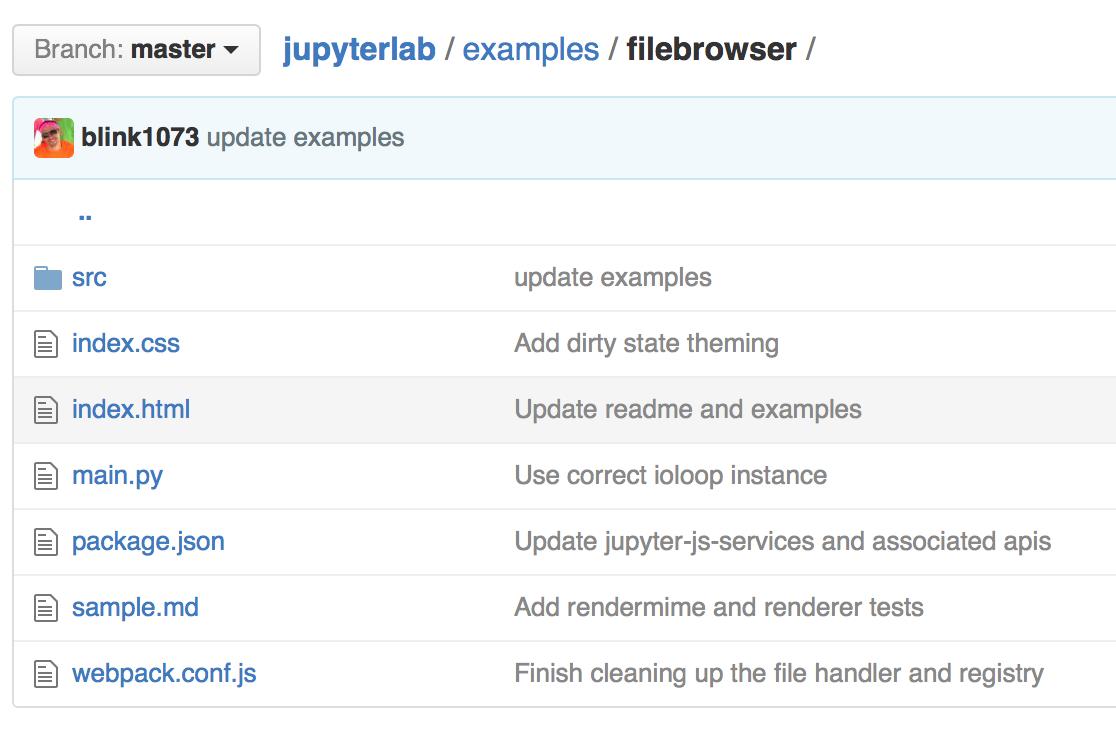 Examples — JupyterLab 1 0 4 documentation